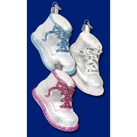 Old World Christmas OWC Baby Shoe