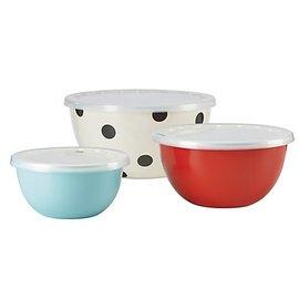 Kate Spade New York Kate Spade NY Serve and Store Bowls set of 3