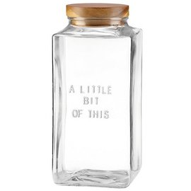 Kate Spade New York Kate Spade NY Large Canister Little Bit of This