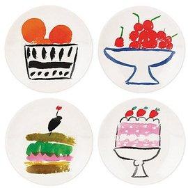 Kate Spade New York Kate Spade NY Appetizer Plates set of 4 Pretty Pantry