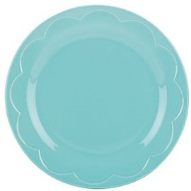 Kate Spade New York Kate Spade NY Accent Plate Scultped Scallop Turquoise