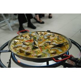 Magefesa Magefesa Carbon on Steel 12 inch Paella Pan CLOSEOUT