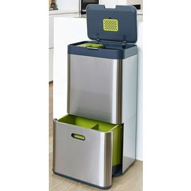 Joseph Joseph Joseph Joseph Totem 60 Stainless Steel Trash Can CLOSEOUT/NO RETURN