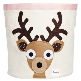 3 Sprouts 3 Sprouts Storage Bin Deer