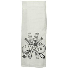 Twisted Wares Twisted Wares Hang Tight Flour Sack Towel Cluster Fork