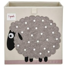 3 Sprouts 3 Sprouts Storage Box Sheep