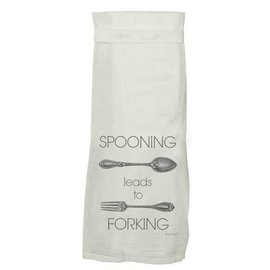 Twisted Wares Twisted Wares Hang Tight Flour Sack Towel Spooning