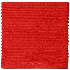 MUkitchen MuKitchen Ridged Cotton Dish Cloth Ruby