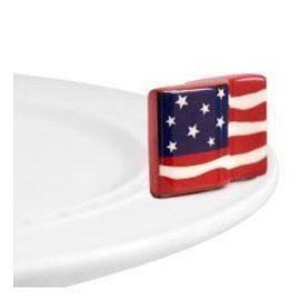 Nora Fleming Nora Fleming Mini Stars and Stripes Forever American flag