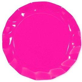 Sophistiplate Sophistiplate Petalo Charger Plates Pink