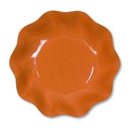 Sophistiplate Sophistiplate Petalo Appetizer/Dessert Bowls Orange