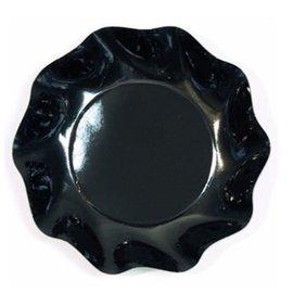 Sophistiplate Sophistiplate Petalo Appetizer/Dessert Bowls Black
