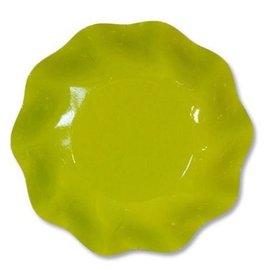 Sophistiplate Sophistiplate Petalo Deep Bowls Lime Green