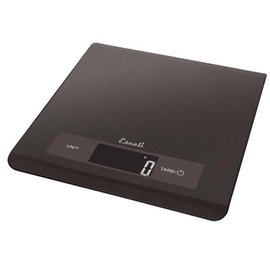 Escali Escali Mako Black Stainless Steel Scale