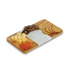 Oak & Olive (formerly Picnic Plus) Oak and Olive Crema Cutting Board Olive Wood/Marble.