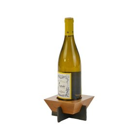 Oak & Olive (formerly Picnic Plus) Oak and Olive Village Bottle Stand Cherry CLOSEOUT