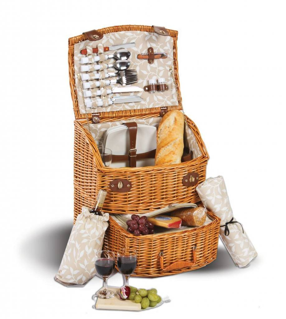 Oak Olive Formerly Picnic Plus And Exeter 4 Person Basket