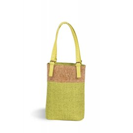 Oak & Olive (formerly Picnic Plus) Oak and Olive Double Bottle Wine Tote Celery