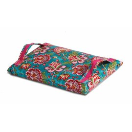 Oak & Olive (formerly Picnic Plus) Oak & Olive Kneeling Cushion Madeline Turquoise discontinued