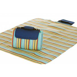 Oak & Olive (formerly Picnic Plus) Oak & Olive Small Mega Mat BLUE BERRY STRIPE