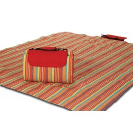 Oak & Olive (formerly Picnic Plus) Oak & Olive Large Mega Mat VERY BERRY STRIPE