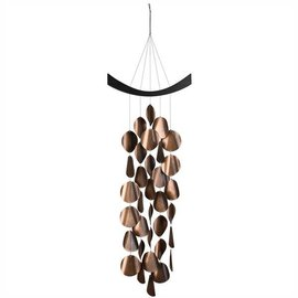 Woodstock Chimes Woodstock Moonlight Waves Wind Chime Copper CLOSEOUT