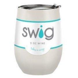Swig Swig Wine Cup Pearl 9 oz