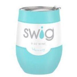 Swig Swig Wine Cup Ocean 9 oz