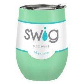 Swig Swig Wine Cup Mint 9 oz