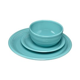 Fiesta Fiesta 3 Piece Place Setting Bistro Turquoise