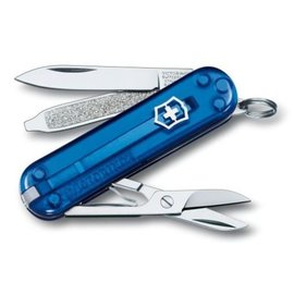 Victorinox Swiss Army Classic SD Pocket Knife Translucent Blue