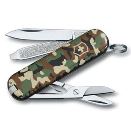 Victorinox Swiss Army Classic SD Knife 58mm Camouflage