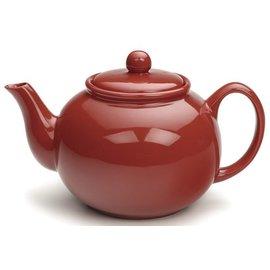 RSVP RSVP Stoneware Teapot Red