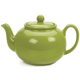RSVP RSVP Stoneware Teapot Green