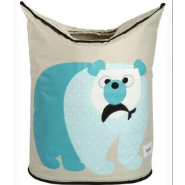 3 Sprouts 3 Sprouts Laundry Hamper Polar Bear
