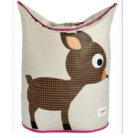 3 Sprouts 3 Sprouts Laundry Hamper Deer Brown