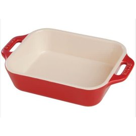 Staub Staub Ceramic Rectangular Baking Dish 10.5 x 7.5 in Cherry