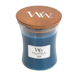 Virginia Gift Brands WoodWick Candle Medium Denim