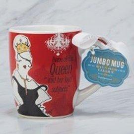 Certified International Certified International Home of the Queen Jumbo Mug 24 ounces