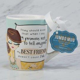 Certified International Certified International My Best Friend Jumbo Mug 24 ounces
