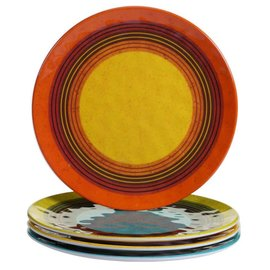 Certified International Certified International Sedona Melamine Salad Plate 9 inch Assorted
