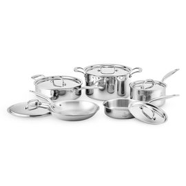 Hammer Stahl Hammer Stahl Core Cookware Stainless Steel 10 pc Set