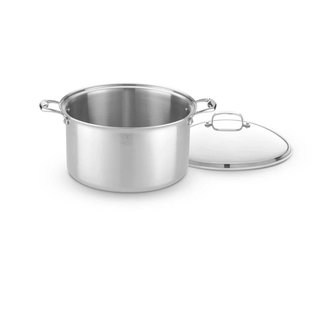 Hammer Stahl American Clad Stock Pot with Cover 16 Qt.