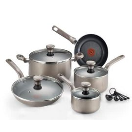 T-Fal T-Fal Excite 14 pc Cookware Set Shimmer