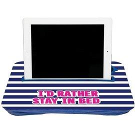 Fashionit Fashionit Tablet Tray Blue Stripe