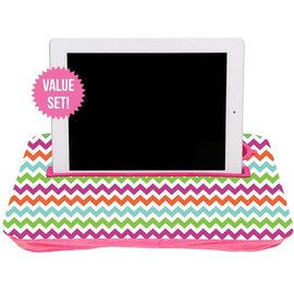 Fashionit Fashionit Tablet Tray Pink Chevron