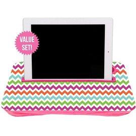 Fashionit Fashionit Tablet Tray Pink Chevron