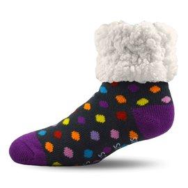 PUDUS PUDUS Classic Slipper Socks Polka Dot Multi