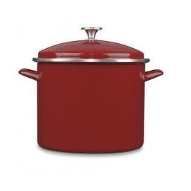 Cuisinart Cuisinart 12 Qt Stockpot with Cover Red
