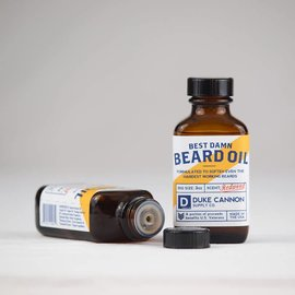 Duke Cannon Supply Co Duke Cannon Best Damn Beard Oil
